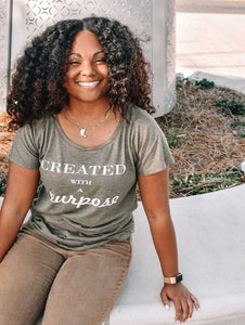 Created With a Purpose Tee