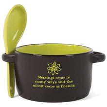 Inspirational Personal Bowl w/ Spoon Set