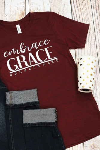 EMBRACE GRACE UNISEX SHORT SLEEVE T-SHIRT