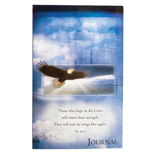 Wings Like Eagles Flexcover Journal - Isaiah 40:31