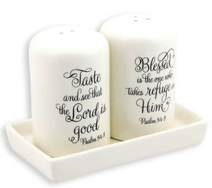 Taste And See, Salt And Pepper Shaker Set