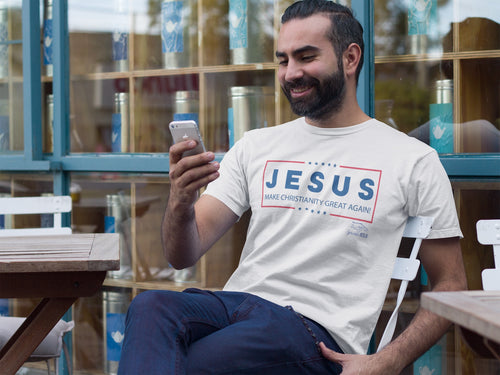 SprinkleOfJesus- Make Christianity Great Again Tee