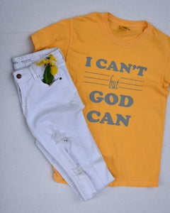 I Can't but God Can
