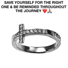 PERSONALIZED Journey Of Celibacy Ring