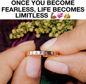 FEARLESS ADJUSTABLE RING