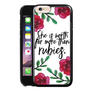 PROVERBS 3:15 PHONE CASE