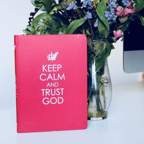 Keep Calm and Trust God Journal
