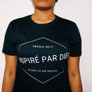 INSPIRE PAR DIEU T-SHIRT (FRENCH VERSION)