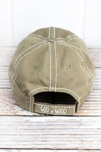 DISTRESSED 'GOD IS GOOD Y'ALL' CAP