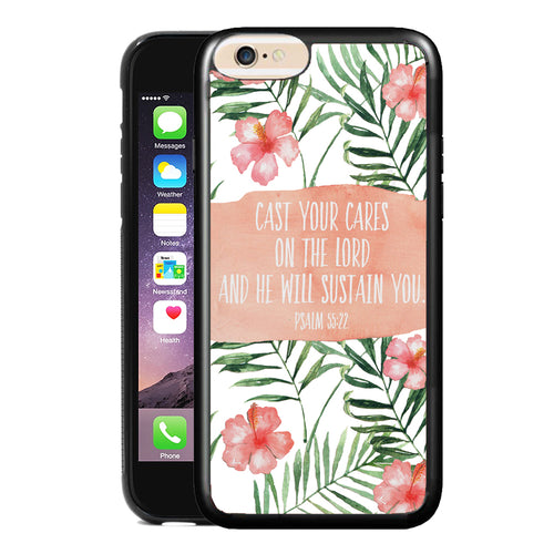PSALM 55:22 PHONE CASE