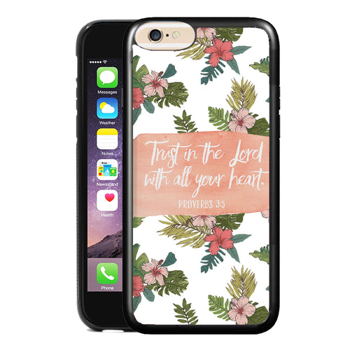 PROVERBS 3:5 PHONE CASE