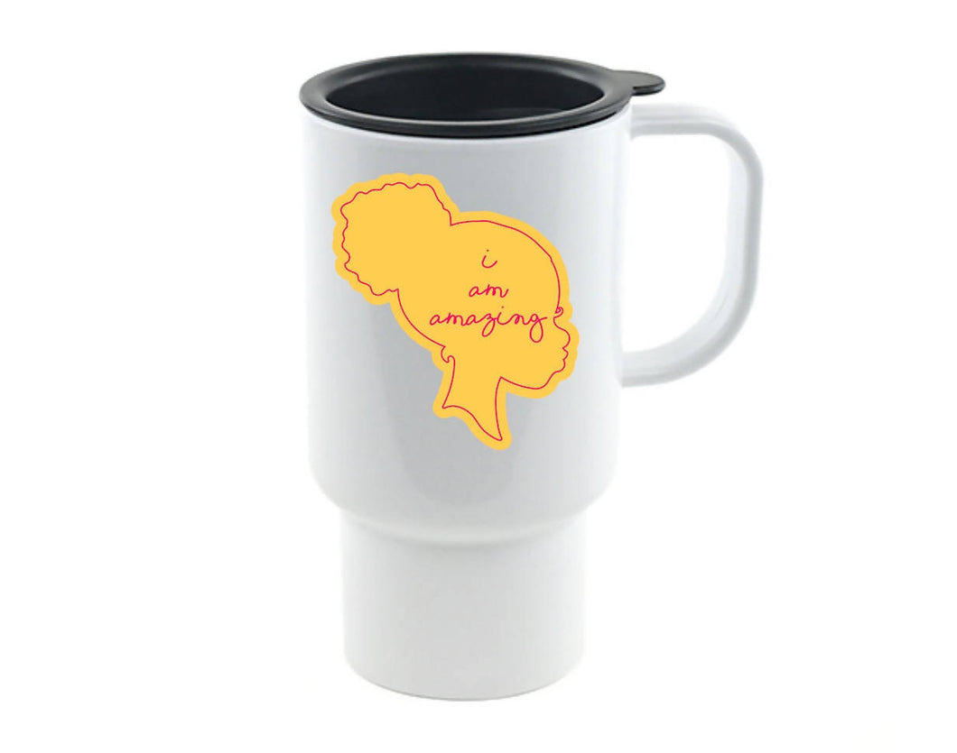 I Am Amazing II Travel Mug