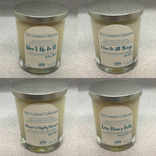 All 4 Sprinkle of Jesus Limited Collection Candles by SCNTED fragrance co.