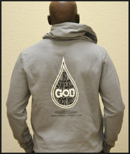 Sports In Christ - No Sweat God Got Me! Grey Hooded Sweatshirt