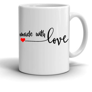 Made With Love Mug