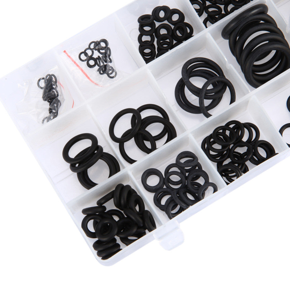 225 PCS 18 Sizes High Temperature One Case Rubber O Ring Kit Metric