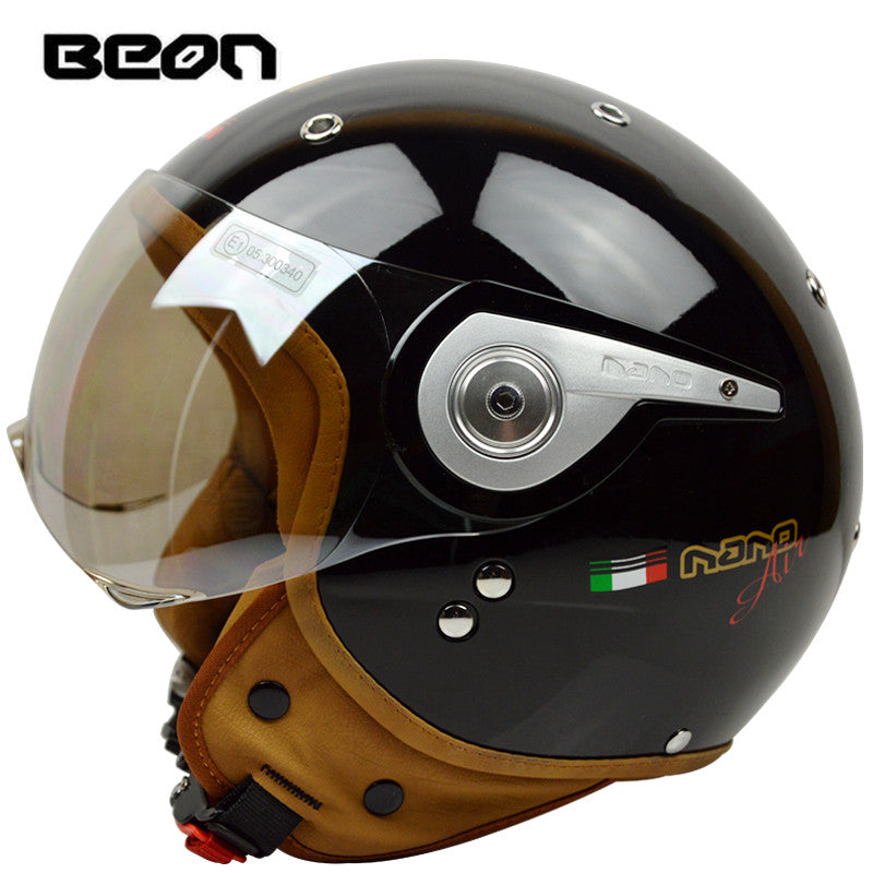 2016 Beon Vintage Off Road Motocross Men Feminino Motorcycle Helmet