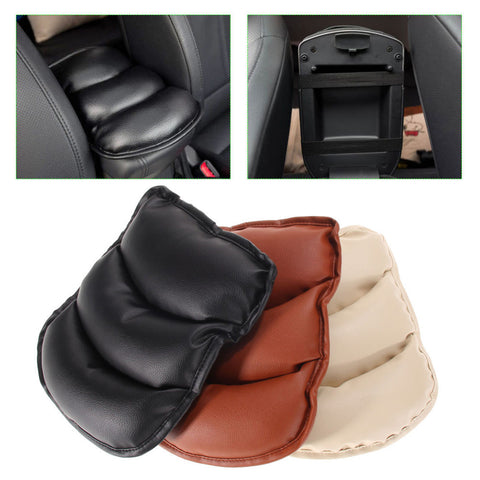 Universal Car Seat Armrests Cover Auto Vehicle Center Console Arm Rest Seat Box Pad Protective Case Soft PU Mats Cushion