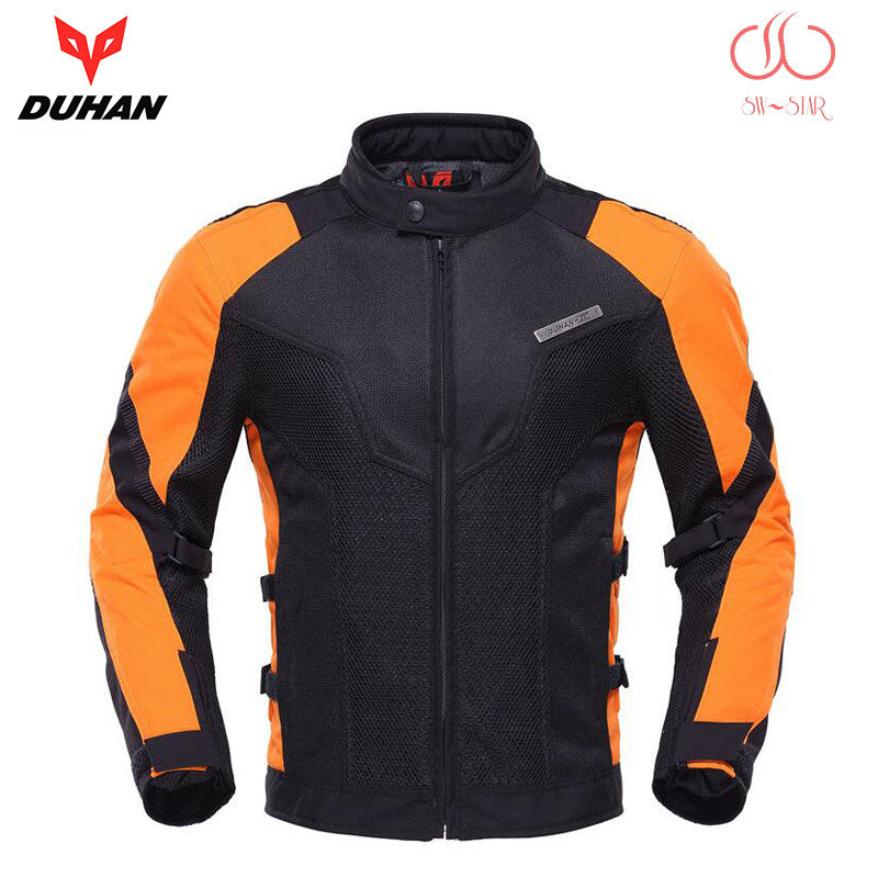 2016 summer DUHAN Motorcycle Jackets motorbike men women racing jacket