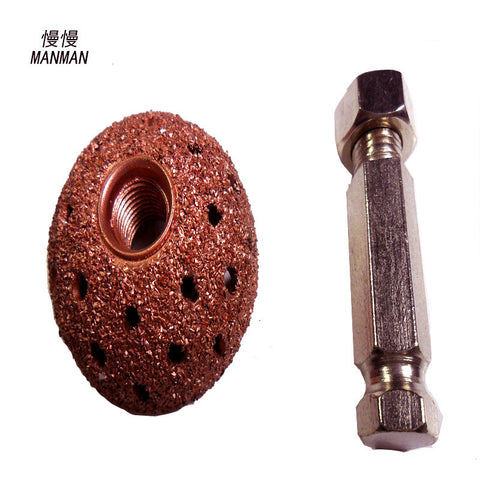 38mm medium size tire repair grinding/coarse grit buffing wheel/tire