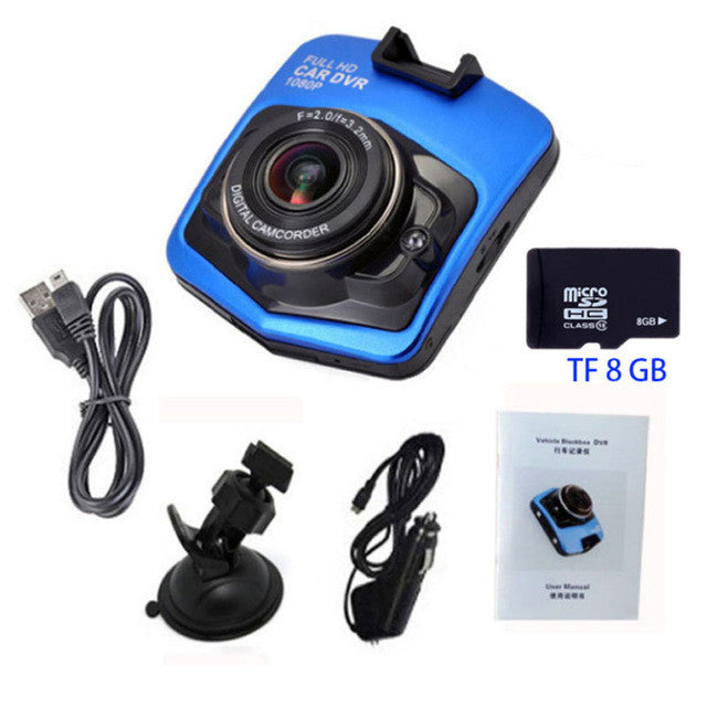 2017 New Mini styling Car DVR Camera LCD 720P Video Camera GT300