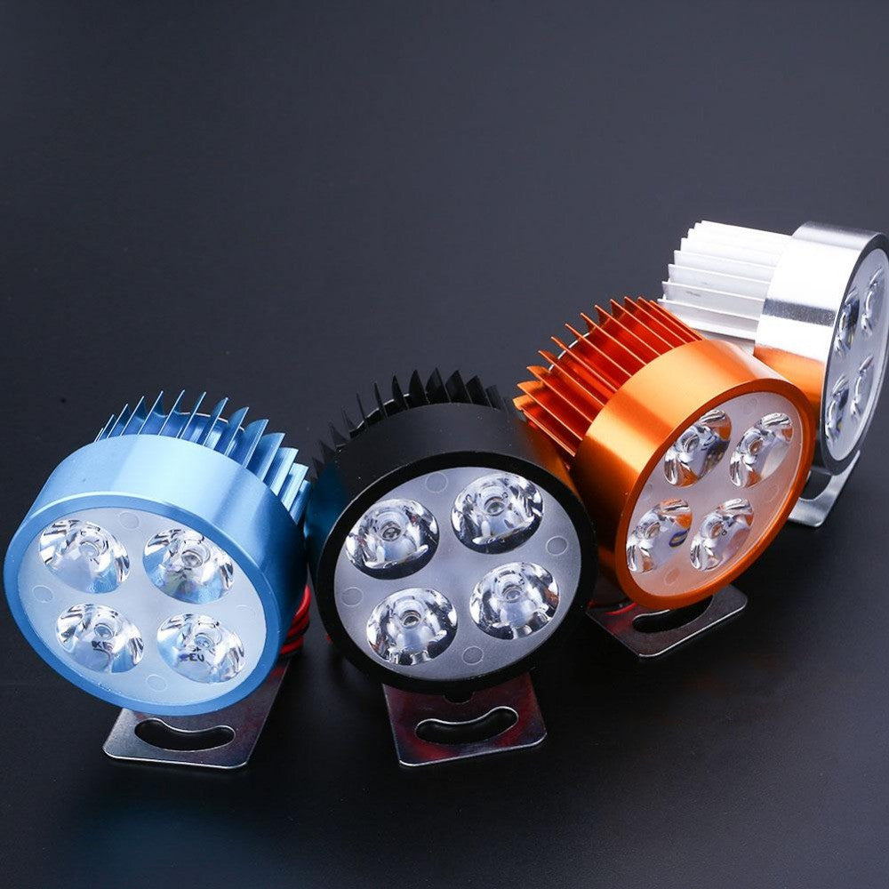 2017 Newest Motorcycle Motorbike E-bike 12V-90V LED Headlight Headlamp