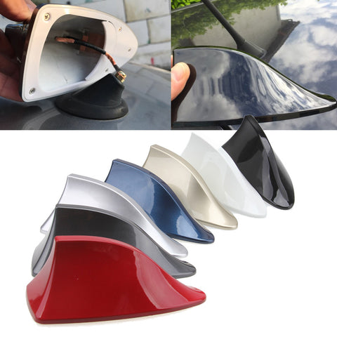 Gray / Blue / Gold / Silver / Black / Red / White Color Car SUV Truck Shark Fin Antenna Radio Signal Aerial Fit BMW Camry Accord