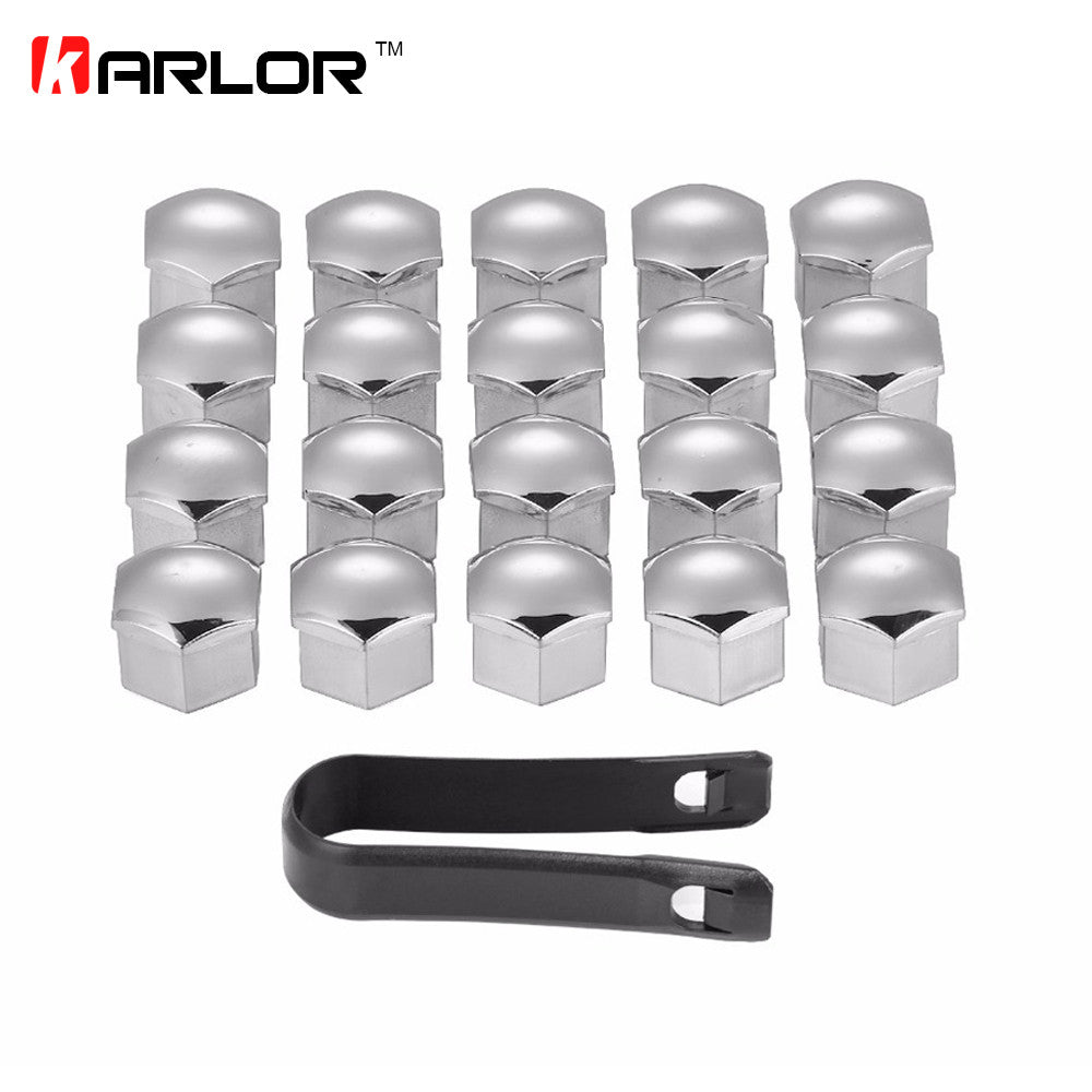 20Pcs/lot Wheel Lug Bolt Center Nut Covers Caps 321601173A for Audi A4