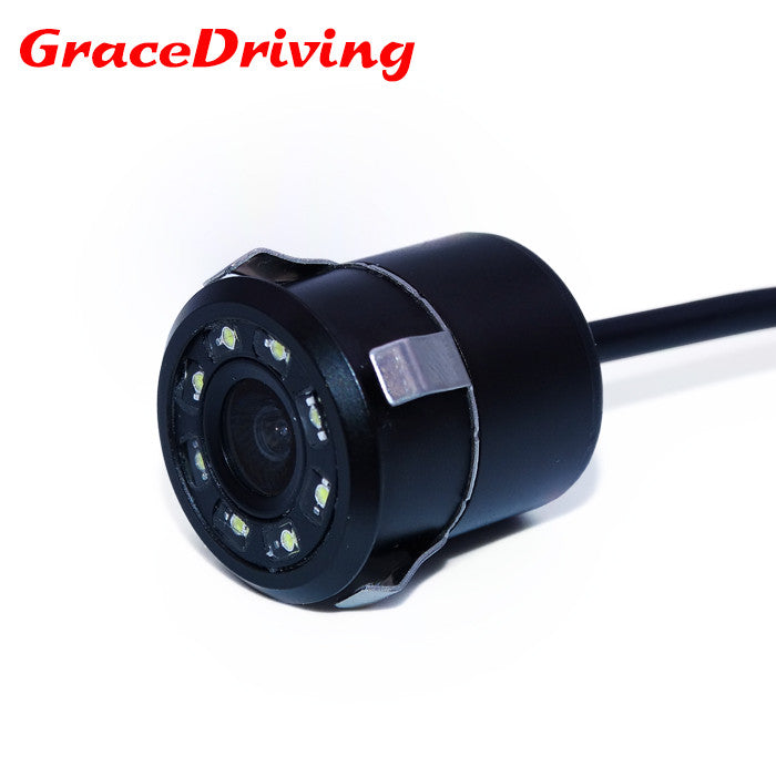2017 New Waterproof CCD Universal  rear view camera  8LED  Night