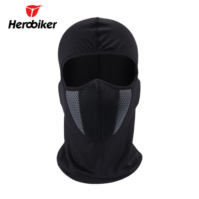 2017 HEROBIKER Men's Motorcycle Face Mask Outdoor Pro Street Windproof