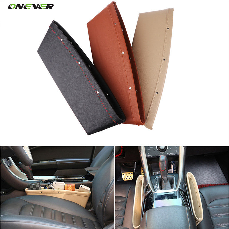 1Pcs Car Storage Organizer Caddy Catcher Box Car Seat Gap Slit