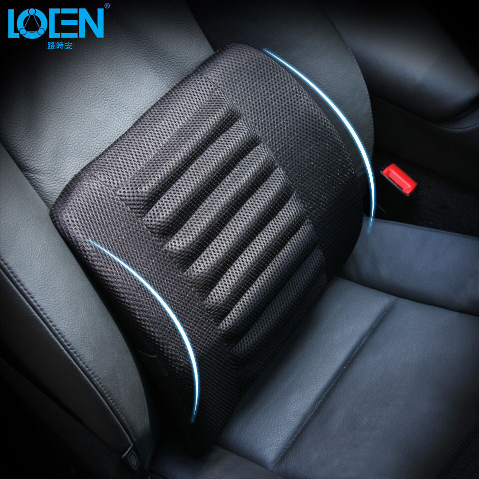 1PCS Breathable Mesh Cloth Car Seat Lumbar Cushion Pillows Soft Cotton