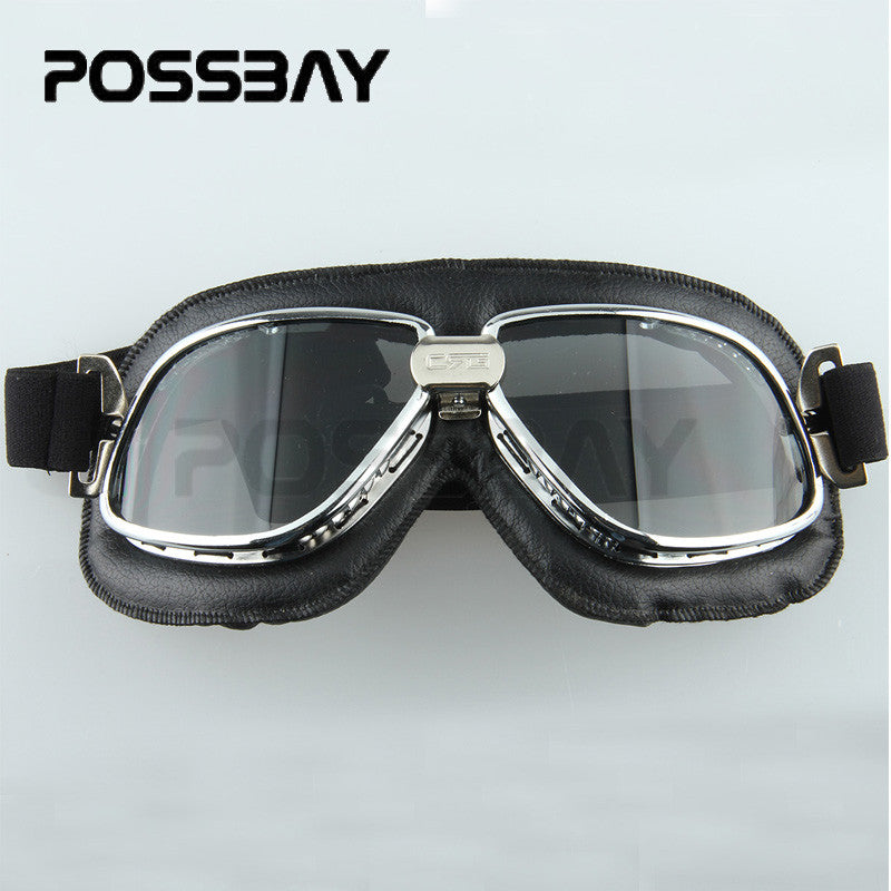 1pcs Vintage Motocross Glasses Mountain Bike Motorcycle Goggles
