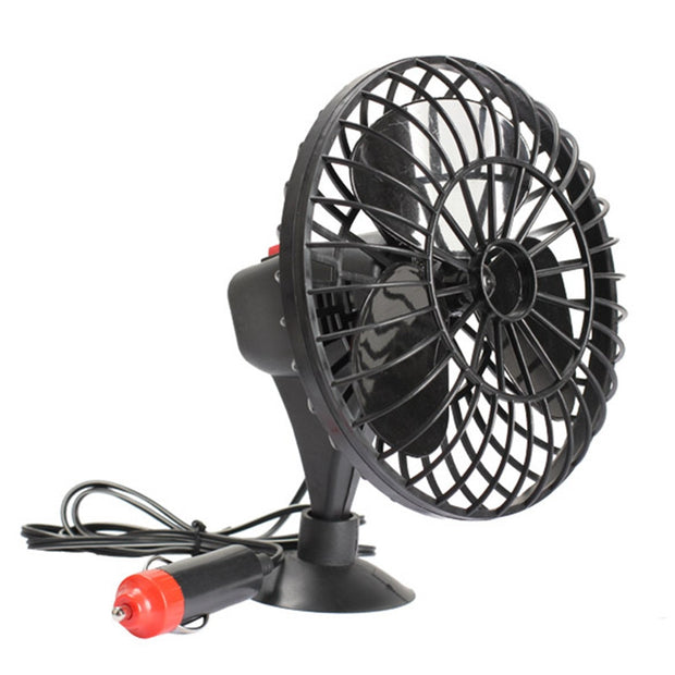 Portable Car Cooling Fan 12V Auto Mini Cooler Cigarette Lighter