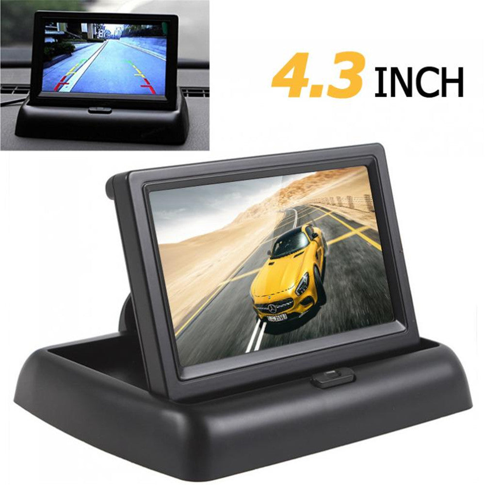 4.3 Inch HD 480H x 272V Resolution 2-channel Video Input TFT-LCD Color
