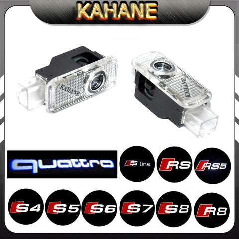 2X S-Line S3 S4 S5 S6 S7 RS RS3 RS4 SR5 LOGO LIGHT led car door laser projector light shadow ghost logo light