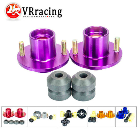 VR RACING - (2PC/LOT) SHOCK TOP HAT FOR 92-00 CIVIC DELSOL INTEGRA JDM COILOVER SHOCK TOP MOUNT HAT STRUT TOWER VR-STH81