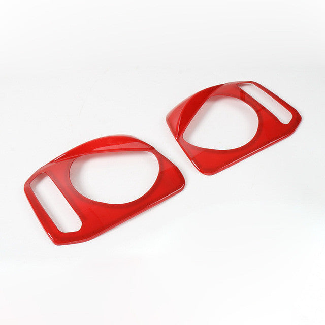 2PCS Newest Brand High Quality Angry Head Light Cover Bezels For
