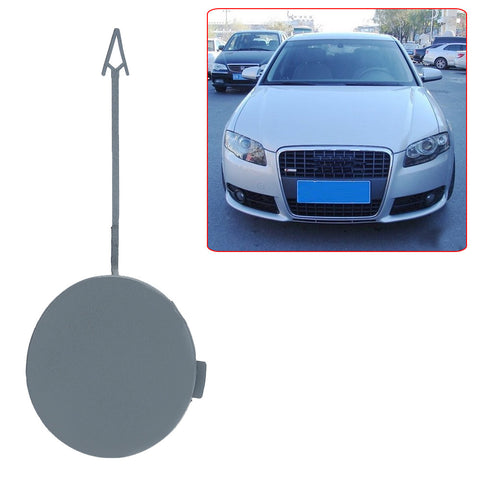 Front Bumper Towing Hook Eye Cover Cap For Audi A4 B7 2005-2008