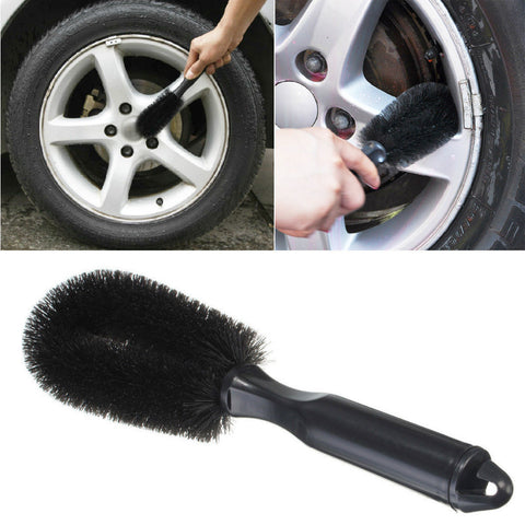 Hot 1PCS AutoCare Wheel Tire Rim Scrub Brush Car Truck Motorcycle Bicycle Washing Cleaning Tool Tire Accessories