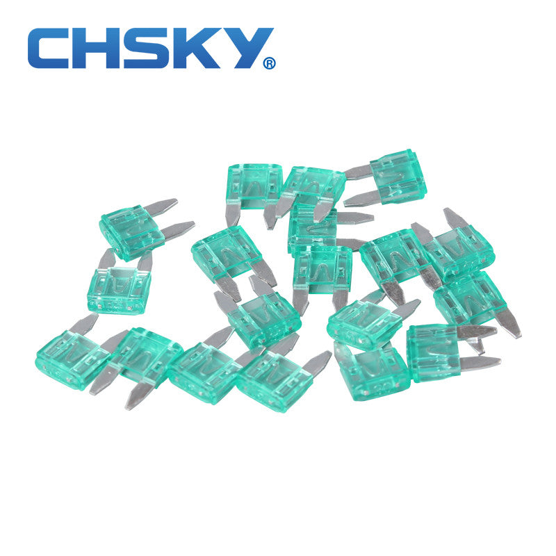 20PCS  with the high quality min auto fuse 30A min car fuse blade
