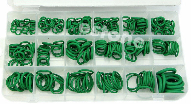 270PCS R134A 18 Sizes Assortment Car Air Condition Rubber Ring O-Rings