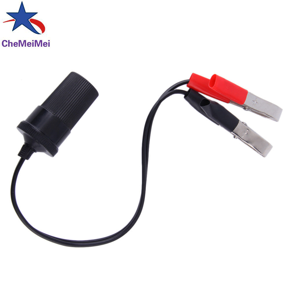 2016 New Hot Sale 12 Volt Battery Terminal Clip-on Cigar Cigarette