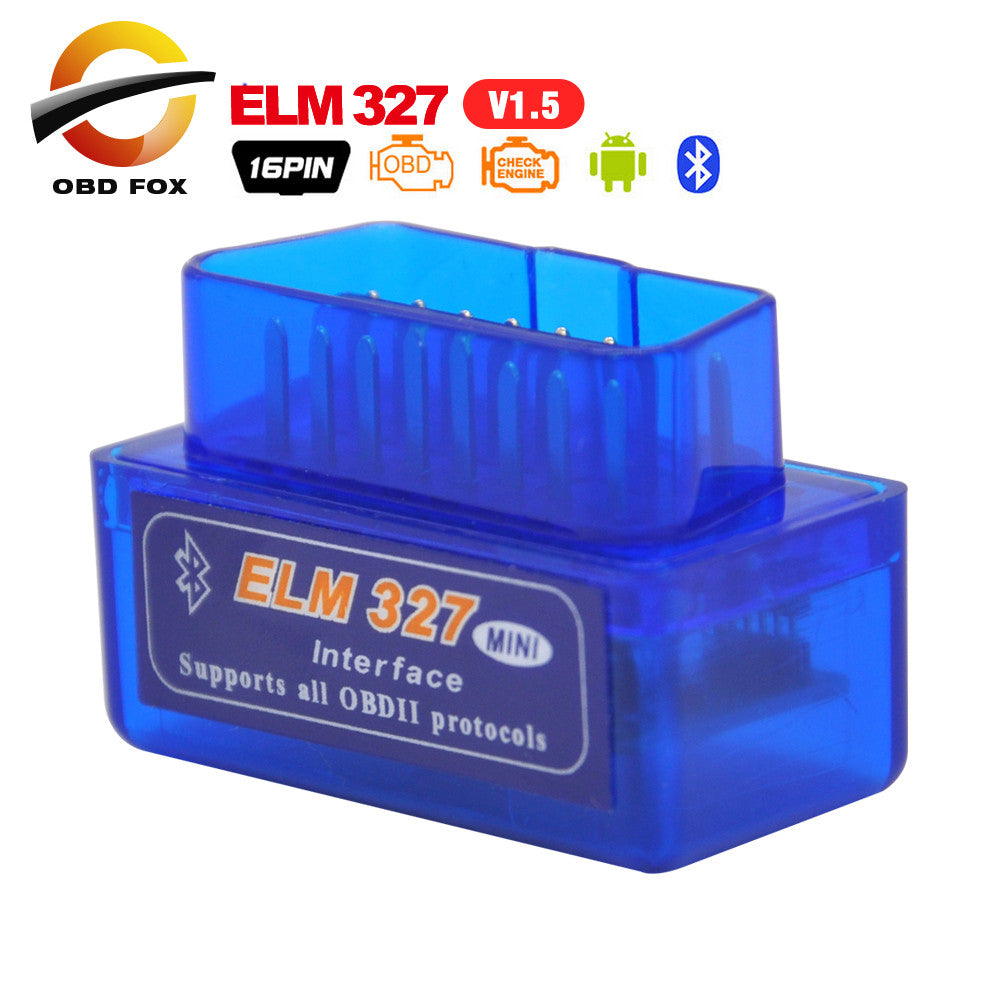 2017 New A+ Quality ELM327 Bluetooth V1.5 PIC18F25K80 OBDII Code