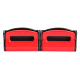2pcs Red Universal General  Car Auto Truck Safety Seat Belt Buckle Clip Adjustable Extender Extension Accessories  E#A3