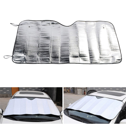 Universal Car Front Window Sunshade Windshield Visor Cover UV Protect Car Window Film Sunshade Car Styling