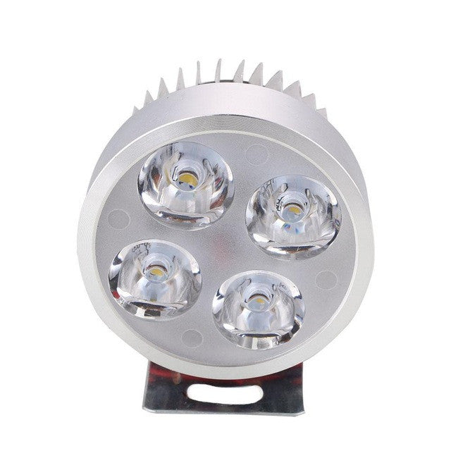 2017 Hot 12V-90V LED Headlight  Motorcycle Motorbike E-bikeHeadlamp