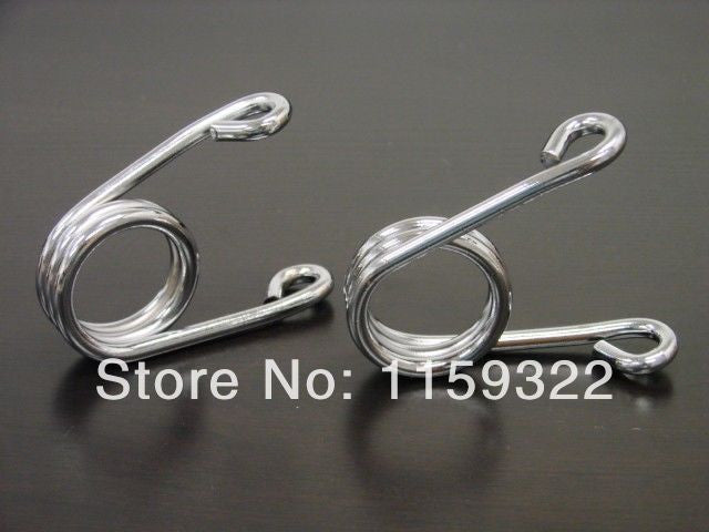 "2"" Chrome Custom Torsion Type Solo Seat Springs For Harley Chopper"