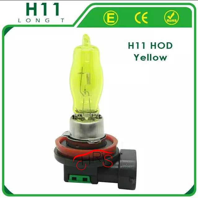 2 x 12V 3000K 100W car styling Golden Yellow Auto Car HOD H11