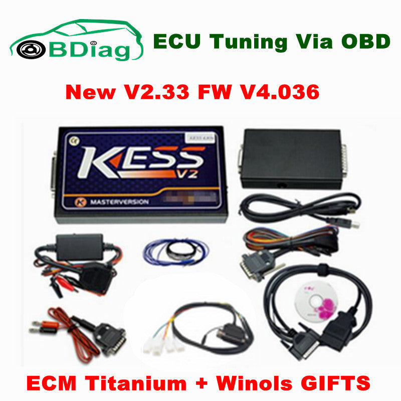 2017 Newest V2.33 KESS V2 OBD2 Manager Tuning Kit No Token Limit